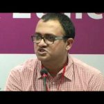 R  Sukumar at the Working Session II - Internet Right as Human Right